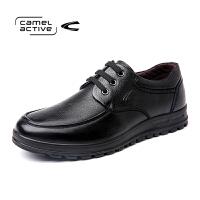 Camel Active/骆驼动感真皮软底系带单鞋中青年英伦鞋子正品男鞋
