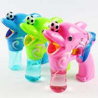 儿童全自动声光电动泡泡枪舞台用送泡泡水礼物大号吹泡泡机玩具枪