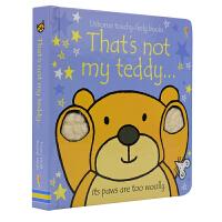Usborne That's Not My Teddy 那不是我的泰迪熊 幼儿英语启蒙认知触摸书纸板书 儿童英文原版图