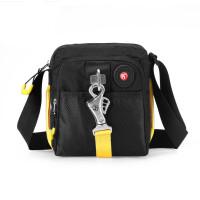 休闲运动包 男士单肩斜挎包户外运动休闲小包简约时尚单肩包
