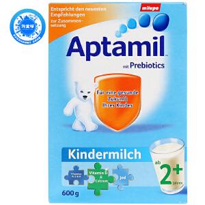 保税区直发  德国Aptamil爱他美婴幼儿配方奶粉2+段(24个月以上宝宝 600g)