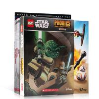 【全店300减110】英文原版绘本LEGO STAR WARS【乐高星球大战自然拼读17册】PHONICS BOXED