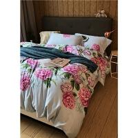 家纺60支长绒棉丁香花菩提 1.8米床上用品四件套支持