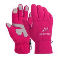 保暖抓绒手套男女触屏防风厚冬季户外运动登山钓鱼骑行全指手套
