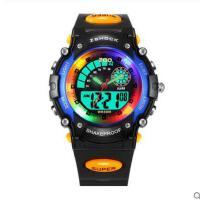 经久耐用橡胶表带夜光智能式表炫酷手表学生创意儿童男女孩防水电子表