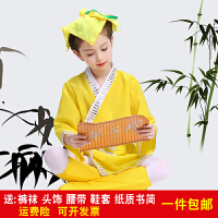 六一儿童演出服装弟子规明日之歌舞蹈表演服装幼儿三字经古装书童
