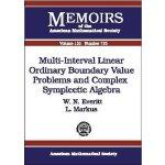 【预订】Multi-Interval Linear Ordinary Boundary Value Problems