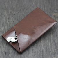 小米Max2皮套手机套6.4寸保护套 直插套 壳全包防摔手机袋 商务套 路易棕 立体双层 加大版