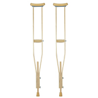 佛山东方腋下拐杖加厚型腋拐手杖老人助行器轻便型木质版 [一支] 木质腋拐(112cm-132cm)