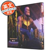 漫威复仇者联盟 英文原版 终局之战 复联4 电影艺术画册 通向复联4之路 Road to Marvel's Aveng