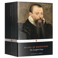 正版现货 蒙田随笔 英文原版文学书 Michel de Montaigne The Complete Essays 企鹅
