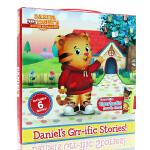 Daniel's Grr-ific Stories丹尼尔老虎 英文原版绘本 儿童启蒙图画书 六个故事合集 亲子互动