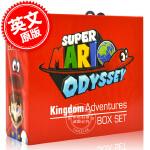 现货 英文原版 马里奥奥德赛 王国大冒险 套装书籍 精装 Super Mario Odyssey Kingdom Ad
