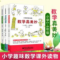 数学真美妙小学1-6年级(共3册)培养数学兴趣小学1~2 数学思维与兴趣读物 数学兴趣阅读 数学奥林匹克小学生数学思维