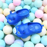 201908220518501492019年夏天新品1-3岁儿童拖鞋男女童可爱小猪浴室内防滑透气凉鞋宝宝包头小孩洞洞鞋