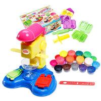 像皮泥无毒橡皮泥模具工具套装儿童雪糕机粘土玩具3d彩泥手工泥
