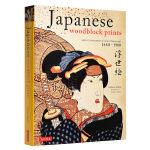 【中商原版】日本浮世绘 英文原版 Japanese Woodblock Prints