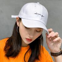 帽子男女百搭鸭舌帽ins潮人时尚棒球帽春夏防晒太阳帽