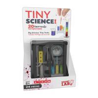 英文原版 小小科学实验 书+实验工具 STEM教育 SmartLab玩具书 科普互动学习 物理 化学 Tiny Sci
