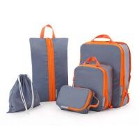 旅行收纳袋套装行李箱分装袋衣物收纳袋整理袋内衣包旅游