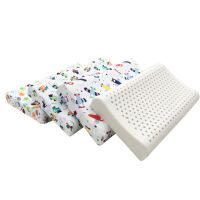 卡通乳胶枕 儿童乳胶枕头 幼儿园学生枕 泰国天然乳胶枕