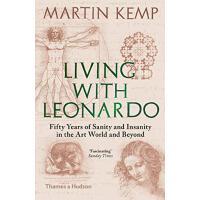 正版 Living with Leonardo 与莱昂纳多同在 达芬奇英文传记 英文原版