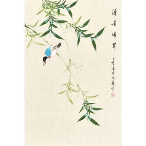 河南美术家协会会员  许鲁清音鸣翠gh04807