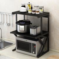 【热销】厨房置物架多层家用调料收纳架台面双层烤箱微波炉架子落地置物架