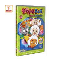 动画片 奇思妙想喜羊羊2 DVD 内页附填色小游戏乐趣无穷