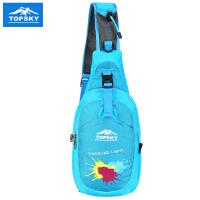 Topsky/远行客 户外胸包运动单肩包男女斜挎包 骑行包休闲运动包