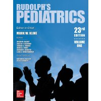 Rudolph's Pediatrics, 23rd Edition 9781259588594