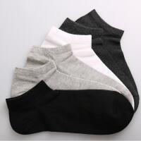 11双浪莎船袜子男纯棉低帮隐形运动短袜夏季薄款全棉浅口防臭男士短筒