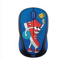 Logitech/罗技 M238-V3 无线鼠标 笔记本台式办公鼠标 无线涂鸦光电卡通鼠标 板鞋头