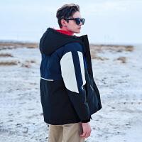 2019冬季新款 潮牌韩版加厚外套 冬装面包服棉衣宽松潮流工装