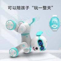 旺仔小六智能机器人宠物小狗狗走路会叫唱歌仿真儿童玩具电动
