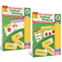 Evan-Moor Skill Sharpeners Critical Thinking Grade Prek-K 2册