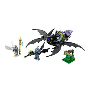 [当当自营]LEGO 乐高 Chima气功传奇 蝠锐特的翼式攻击机 积木拼插儿童益智玩具 70128