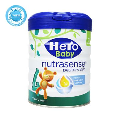 保税区直发  荷兰Hero Baby天赋力美素白金版奶粉4段 700g日期新鲜
