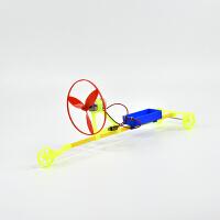 DIY拼装F1空气桨电动赛车科普器材 中小学生益智模型玩具