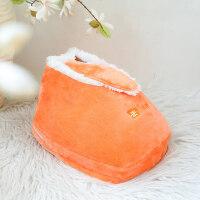 暖手暖脚电暖袋暖宝宝热水袋 充电式可行走电暖鞋 毛绒可拆洗插电办公室暖足垫