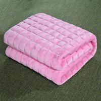 薄款法兰绒床垫榻榻米垫子垫被铺床褥子保暖1.2/1.8m床2米双人1.5
