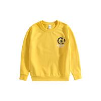 【2件7折到手价:88】小猪班纳童装男童卫衣2021春季新款中大童长袖上衣儿童黄色休闲衫