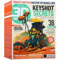 英国 3D WORLD 杂志 订阅2020年 F12 动画 动漫 游戏 数码艺术 设计杂志