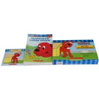 大红狗克里弗英文原版绘本 clifford the big red dog Adventure Set with CD 10本全套装 儿童绘本图画书