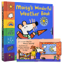 Maisy's Wonderful Weather Book 小鼠波波识天气 趣味启蒙绘本 机关操作书 英语原版绘本 儿童英文原版进口图书