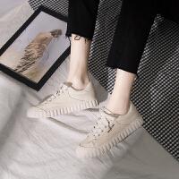 �D品chic鞋子女新款学生韩版帆布鞋百搭复古港风板鞋ins女鞋