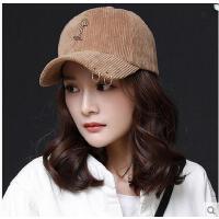 青年韩国鸭舌帽男士帽子户外帽子女夏季运动帽潮棒球帽情侣帽铁环 可礼品卡支付