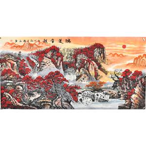 当代实力派画家赵弘四尺整张山水画 gs01057