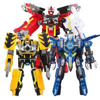 巨神战击队3 豪华版冲锋战击王 儿童变形机器人玩具