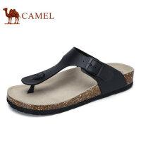 camel骆驼男鞋 2017夏季新品舒适时尚休闲鞋 夹脚清凉沙滩人字拖鞋